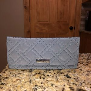 Vera Bradley Trifold Wallet In Charcoal